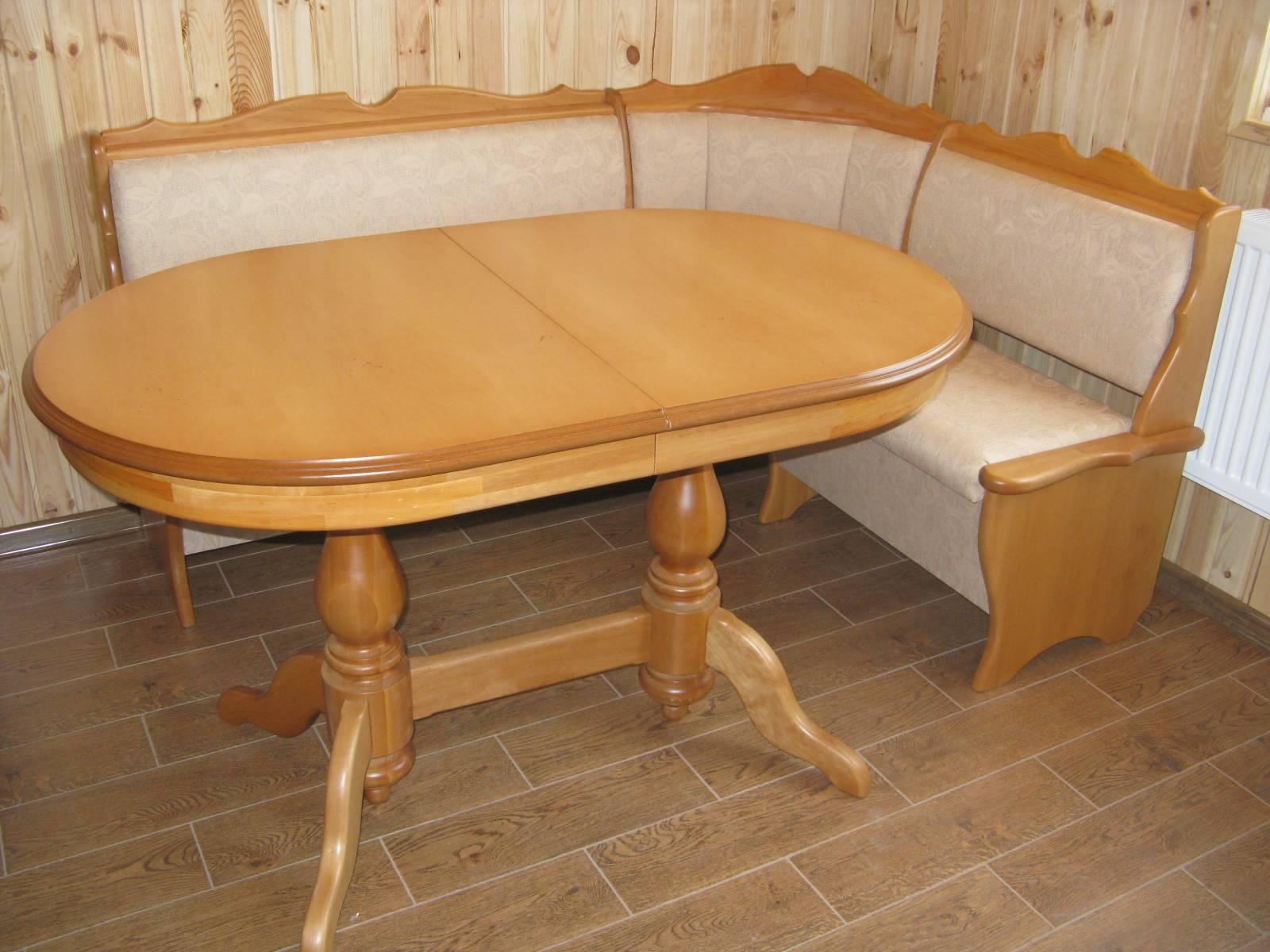 Овальный стол своими руками из дерева фото для дачи